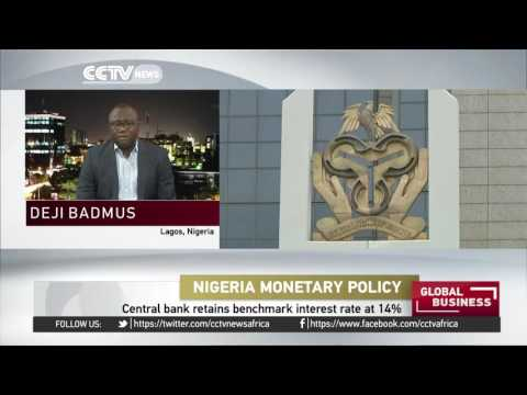 Nigeria's Central Bank Retains Benchmark Interest Rate At 14%