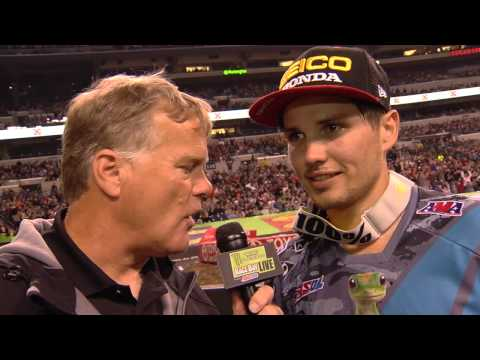 Race Day LIVE 2015 - Indianapolis - RJ Hampshire on the Podium