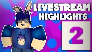 Roblox LiveStream Highlights 2 | Funny Moments In Skywars - SkyWars King