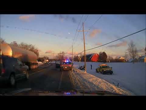 Video shows police speak with drunken driver at one crash minutes before fatal crash