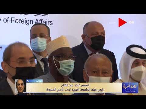 رئيس بعثة جامعة الدول العربية للأمم المتحدة يطرح المحاذير التي ستواجه ملف مصر والسودان في مجلس الأمن  - 22:54-2021 / 6 / 15