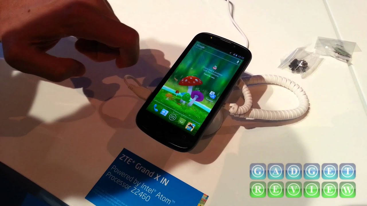 ZTE Gand X Rotatable 3D Live Wallpaper - YouTube