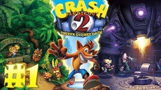 Crash Bandicoot 2 Cortex Strikes Back 1 ► Стрим