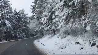 Neve sulle colline intorno a Firenze - AGIPRESS