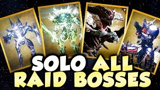 Soloing Every Destiny Raid Boss Back-To-Back, Without Wiping Once! (Oryx, Aksis, Atheon, Crota)