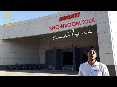An Exclusive Tour of the Ducati Showroom