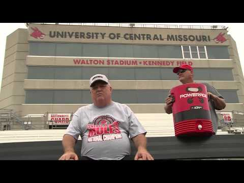 ALS Ice Bucket Challenge: UCM Athletic Director Jerry Hughes