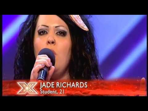 The X Factor 2011_09_03 - Jade Richards - Someone Like you