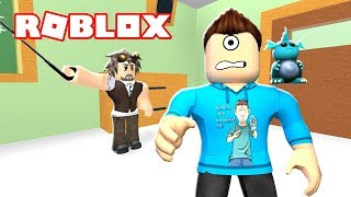 ESCAPE DETENTION OBBY IN ROBLOX!!! | MicroGuardian