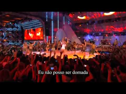 Miley Cyrus- Can't Be Tamed   HD (Much Music Video Awards 2010) -  Legendado