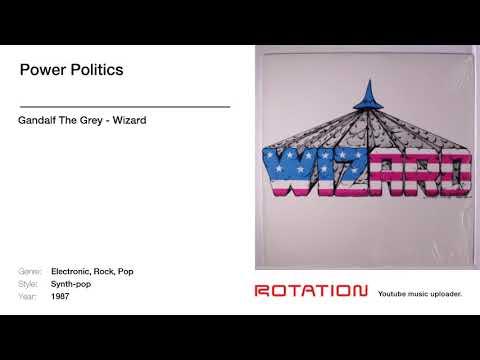 Gandalf The Grey - Power Politics [1987 Synth-Pop]