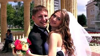 КРАСИВАЯ СВАДЬБА. love story.(г. Костанай) 2015. свадебный ролик.