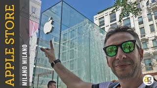 TOUR APPLE STORE MILANO vi porto DENTRO e ve lo RACCONTO.