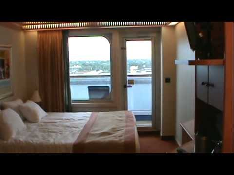The Carnival Liberty Tour Our Balcony Room Youtube