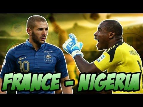 LES HUITIÈMES : FRANCE-NIGERIA - Fifa 14