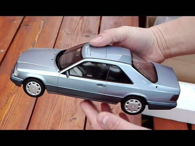 Unboxing 1:18 Mercedes-Benz C124 E320 - Otto-mobile