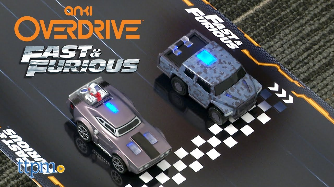 Anki Overdrive Fast & Furious Edition from Anki - YouTube