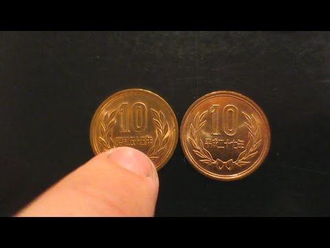 READING JAPANESE COINS!