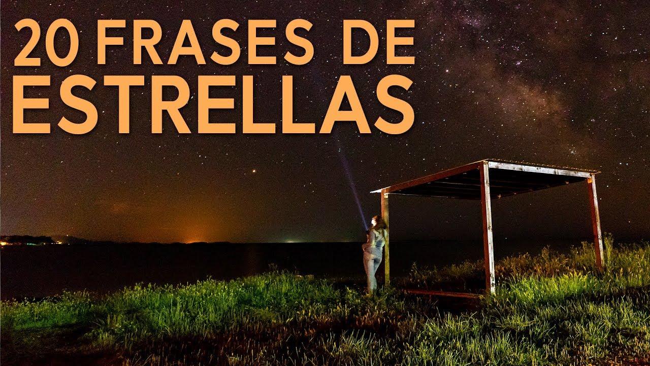 20 Frases De Estrellas Los Millones De Soles Del Cielo Nocturno