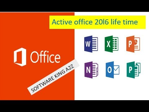 How to Activate MICROSOFT OFFICE 2016  Full v…