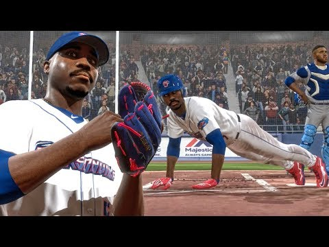 DOING PUSH-UPS AT HOME PLATE AFTER HOME RUN! MLB The Show 18 Road To The Show Gameplay Ep. 8
