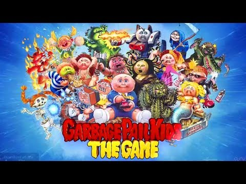 garbage-pail-kids:-the-game---ios-/-android-gameplay