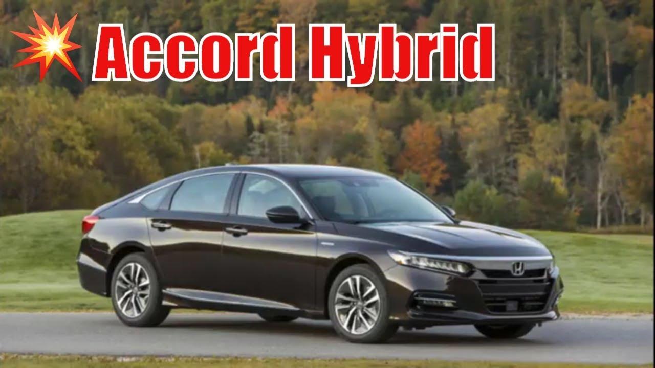 2019 Honda Accord Hybrid Lx 0 60 Base