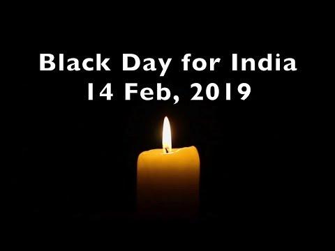 Pulwama Terror Attack || Black Day India 14 Feb 2019 || Sad Whatsapp Status Video || Indian Army