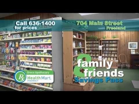 Greco Apothecary Health Mart Pharmacy