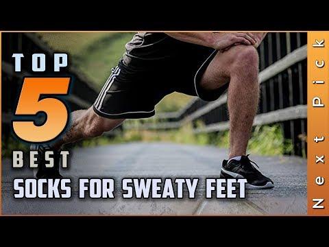 Top 5 Best Socks For Sweaty Feet Review in 2020