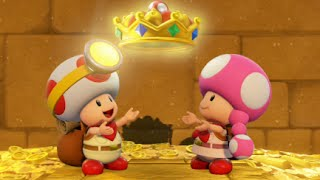 Captain Toad: Treasure Tracker 100% Walkthrough Part 19 - Mummy-Me Maze Forever