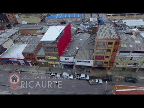 Venta de Bodega en el Ricaurte - Mártires | Desde Drone