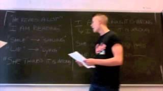 Engelsk nutid & udvidet nutid