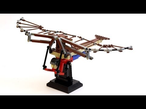 The Aviator - LEGO Da Vinci Flying Machine fragman