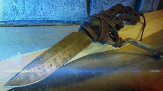 Как сделать нож в стиле Постапокалипсис своими руками / knife in the postapocalypse style