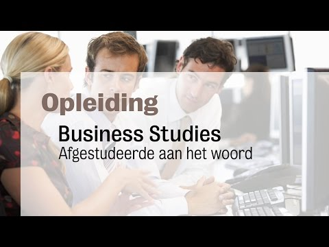 HBO Business Studies - Afgestudeerde Ferdy Santoo over de afstudeerrichting  Banking & Insurance