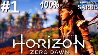 Zagrajmy w Horizon Zero Dawn (100%) odc. 1 - Ciężki los wyrzutka