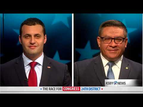24th-district-congressional-debate-with-justin-fareed-and-salud-carbajal-2018