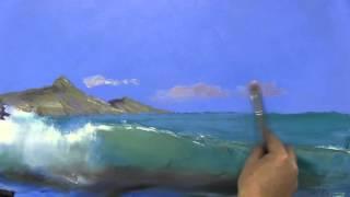 Игорь Сахаров, научиться рисовать море, волну, морской пейзаж