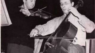 Heifetz and Feuermann play Brahms