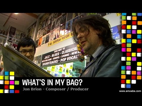 Jon Brion - What's In My Bag?