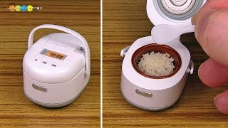 DIY Miniature Rice cooker ミニチュア炊飯器作り thumbnail