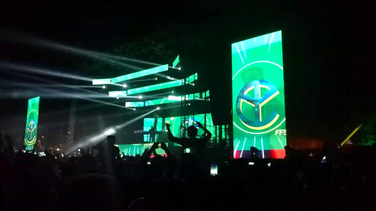 Yellow Claw live Sunburn City Festival Delhi III