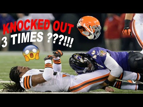 the most unlucky NFL player ever..