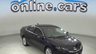 A99630GP Used 2016 Chevrolet Impala LT FWD 4D Sedan Blue Test Drive, Review, For Sale