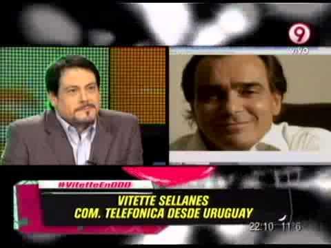 COM. TEL. CON MARIO VITTETE SELLANES - PRIMERA PARTE - 04-08-13