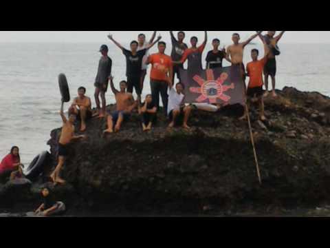 》The Jakmania《Milad6thBrothers Pantai Guci Batu Kapal Kalianda Lampung. Together We Are Stronger.!!!