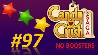 Candy Crush Saga! level 97 - 3 stars - no boosters