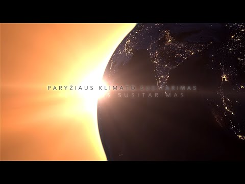 Paryžiaus susitarimas: pasaulis vienijasi kovai su klimato kaita