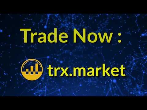 #TRXMARKET TRON based Decentralized Exchange with Zero transaction Fee.